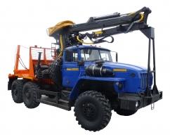 Лесовозный тягач на шасси КамАЗ-43118 (59601C)